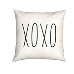 XOXO - pillow cover (Rae Dunn)