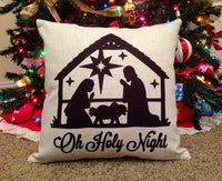 Nativity - pillow cover