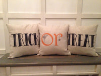 Trick or Treat - 3 Pillow Cover Set