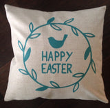 Happy Easter Bird - pillow cover
