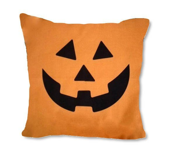 Jack-o-Lantern - pillow cover