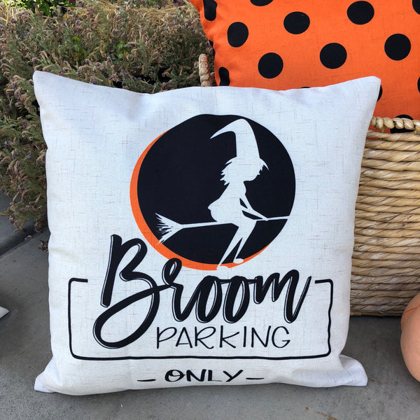 Broom Parking - pillow cover