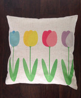 Tulips - pillow cover