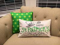 Happy St. Patricks Day - pillow cover