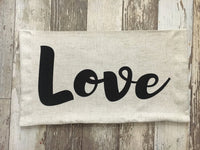 Love - pillow cover