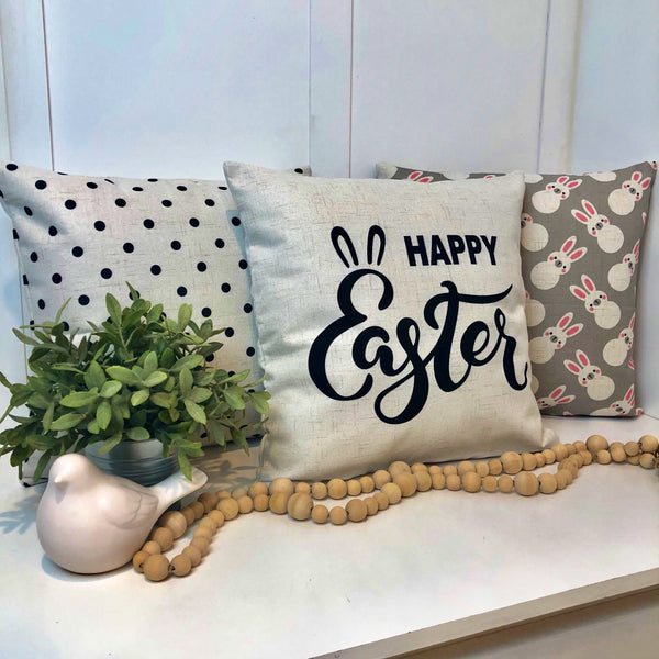 Happy Easter - pillow cover