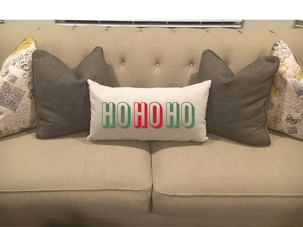 Ho Ho Ho - pillow cover