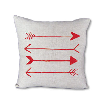 Red Arrow - pillow cover
