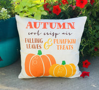 Autumn - pillow cover