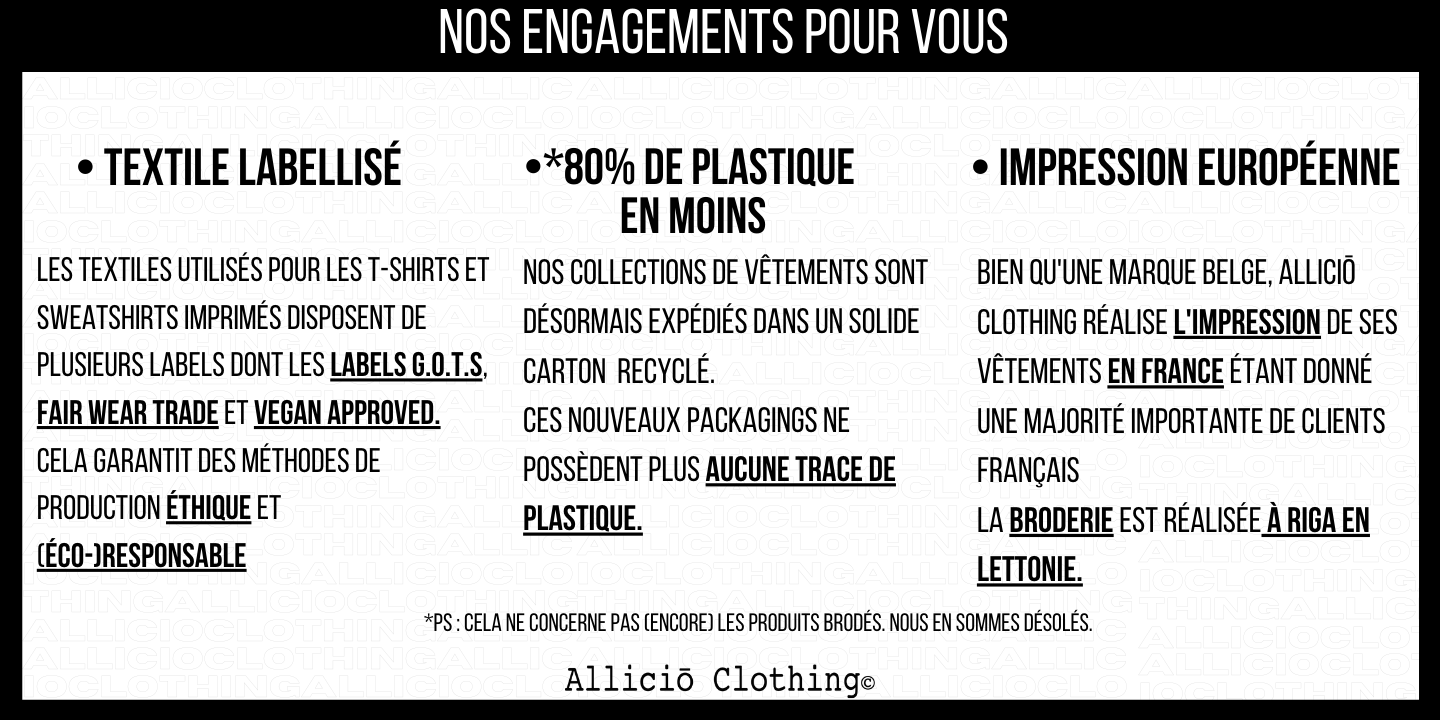 Engagement Allicio Clothing