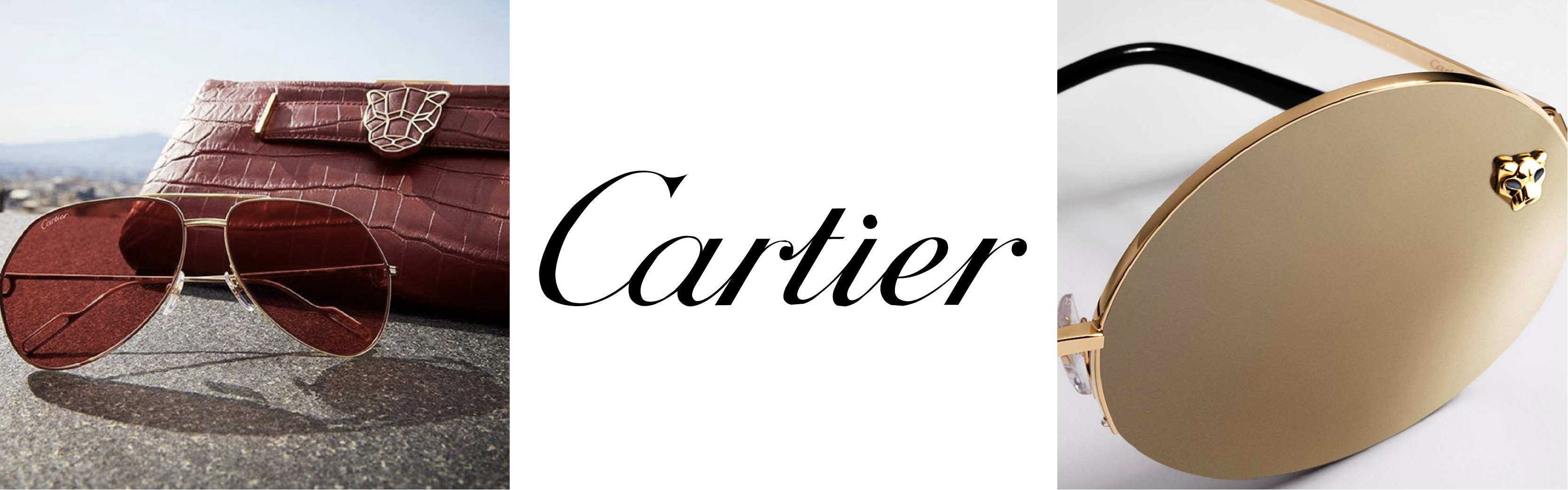 Cartier Sunglasses Banner