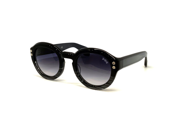 Hoorsenbuhs Sunglasses - Model III (Black/Grey Tortoise Fade)