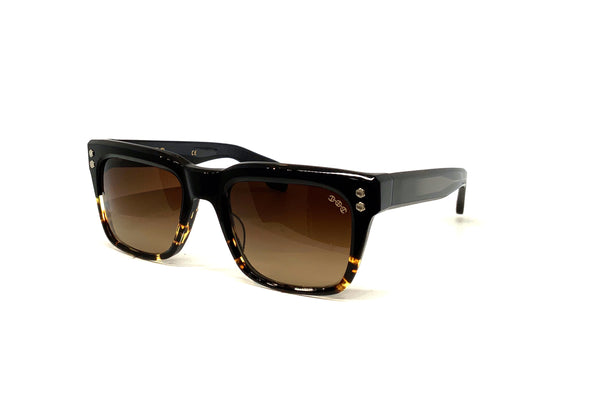 Hoorsenbuhs Sunglasses - Model V (Black/Tortoise Fade)