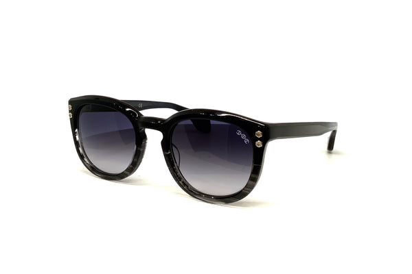 Hoorsenbuhs Sunglasses - Model II (Black/Grey Tortoise Fade)