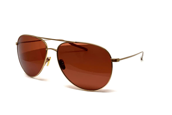 Fred Segal x Salt Optics - Francisco (Brushed Honey Gold)