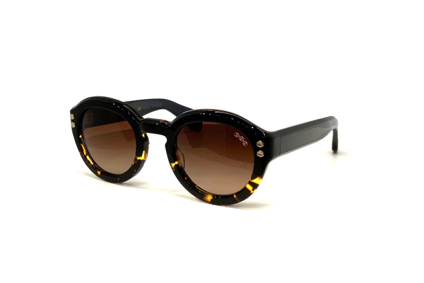 Hoorsenbuhs Sunglasses - Model III (Black/Tortoise Fade)
