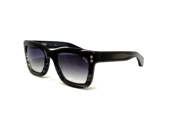 Hoorsenbuhs Sunglasses - Model I (Black/Grey Tortoise Fade)