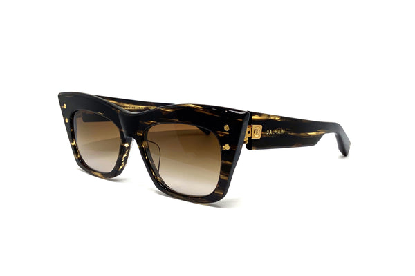 Balmain - B-II (Dark Brown Swirl - Gold)