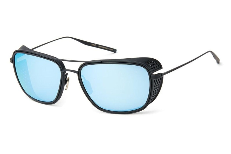 Black Sand w/ Polarized CR39 Double Mirror Blue