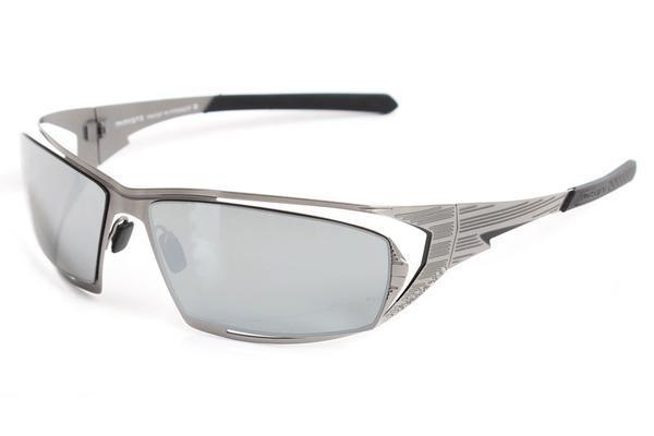 Ruthenium/Blk w/ Chrome Lens