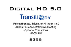 Digital HD 5.0 Freeform Progressives