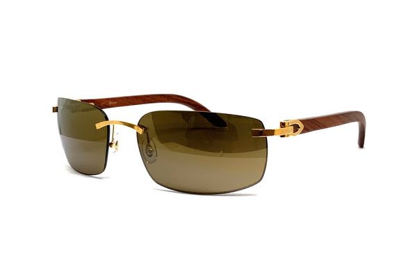 Cartier Wood (G)(CT0047S)