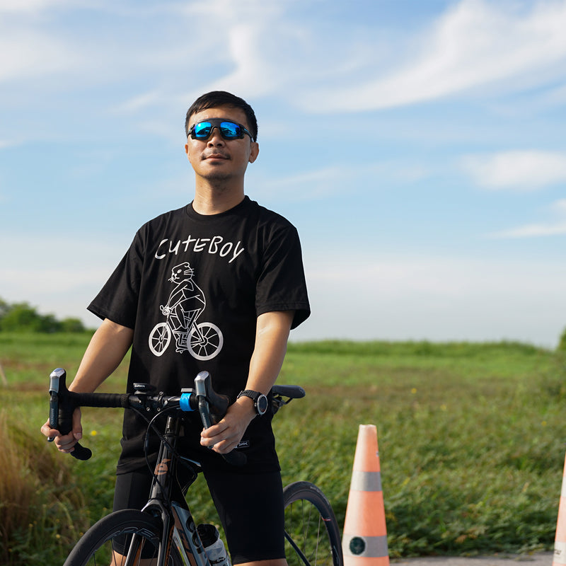 CuteBoy Bicygle Tee
