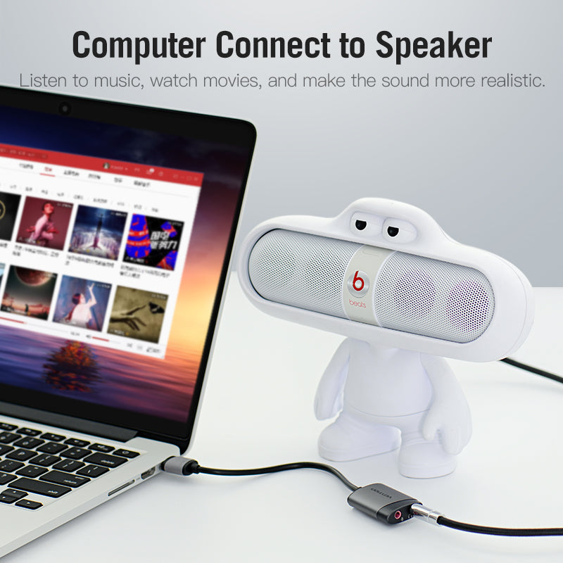 Vention USB External Sound Card