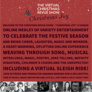 """Christmas Joy"" The 2020 Virtual Christmas Revue Show - Exclusive Link Sent to You by Email Upon Purchase"