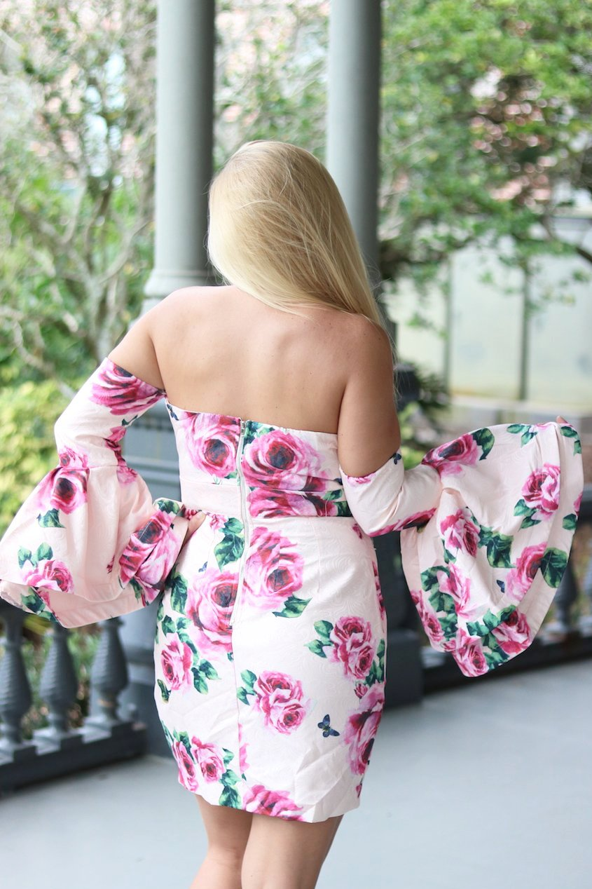 Make A Statement Floral Dress