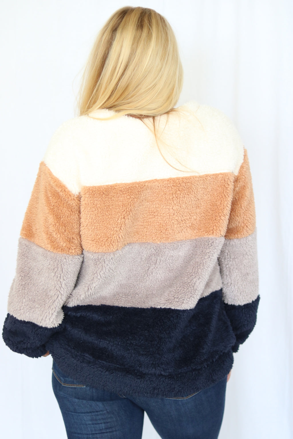 Gingerbread Sherpa Sweater