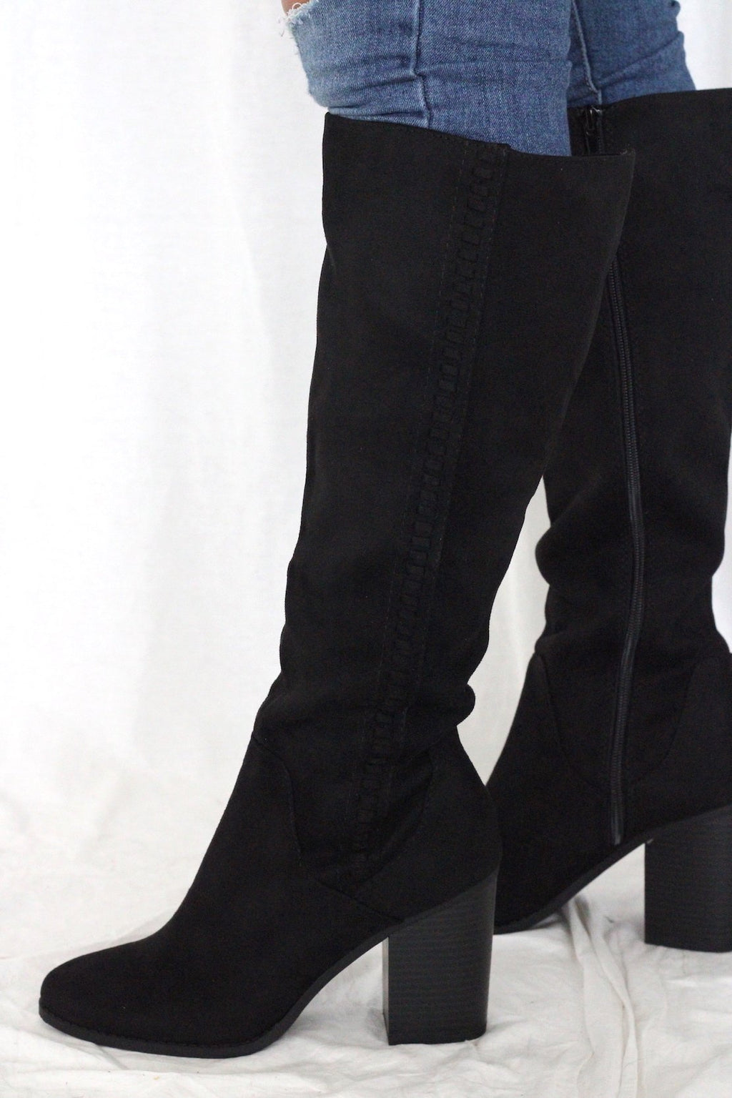 Hickory Boots- Black