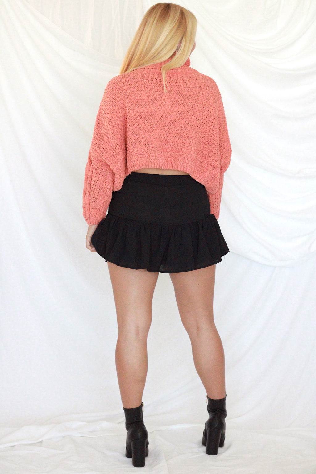 Clay Cropped Sweater