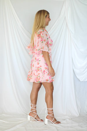 Delilah Sweater- Blue/Pink