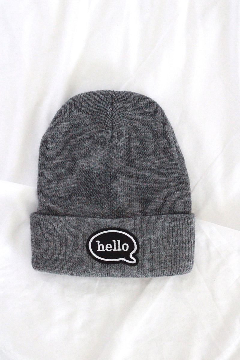 Patch Beanies