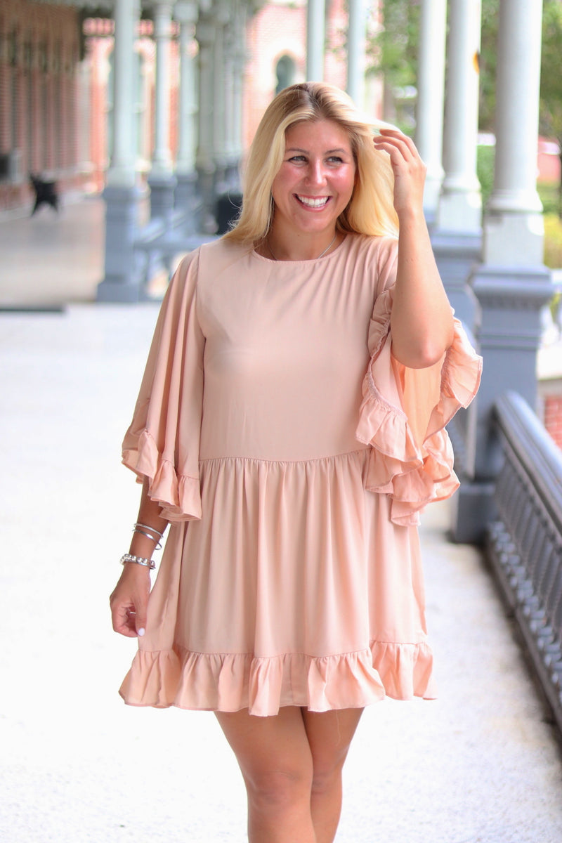 Merci Babydoll Dress