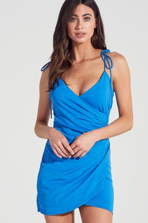Electric Bodycon- Blue