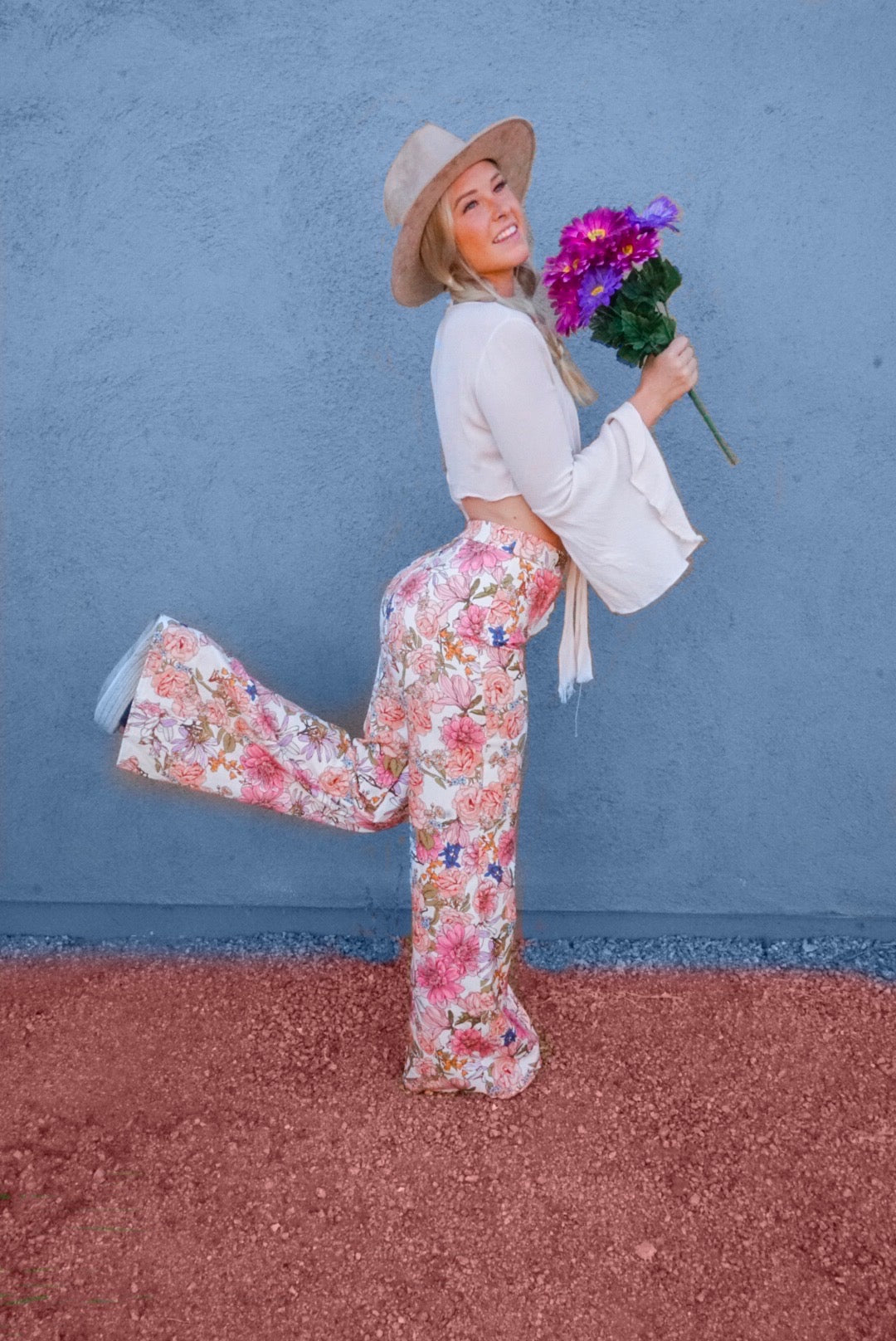 Floral Gypsy Pant