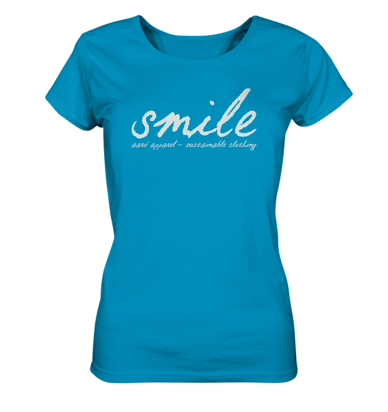 Smile - Ladies Organic Shirt