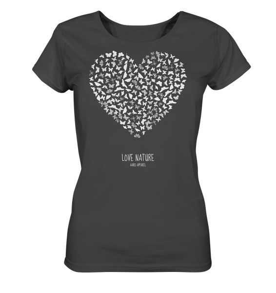 Butterfly Love  - Ladies Organic Shirt