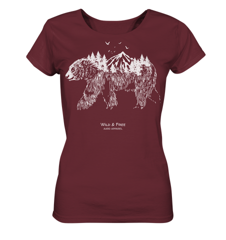 Adventure Bear  - Ladies Organic Shirt