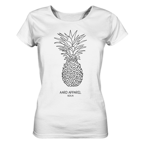 Tropical Pineapple  - Ladies Organic Shirt