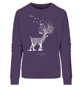 Deer - Ladies Organic Sweatshirt