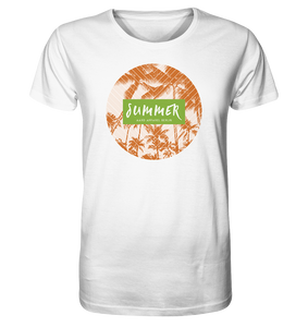 Summer Palms-Organic Shirt