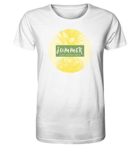Summer Pineapple-Organic Shirt