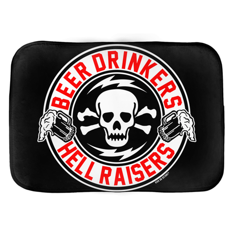 High on Octane® Beer Drinkers Hell Raisers Floor Mat