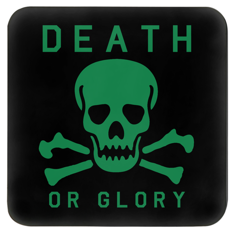 High on Octane® Death or Glory RGB Skull Coasters