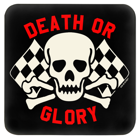 High on Octane® Death or Glory Flag Coasters