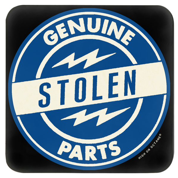 High on Octane® Genuine Stolen Parts Coasters