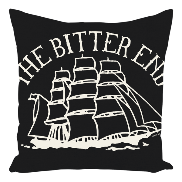 High on Octane® Bitter End Throw Pillow